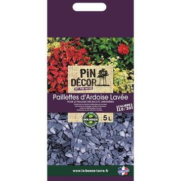 Paillage naturel ecorce pin bille argile copeaux au - Paillette d ardoise ...