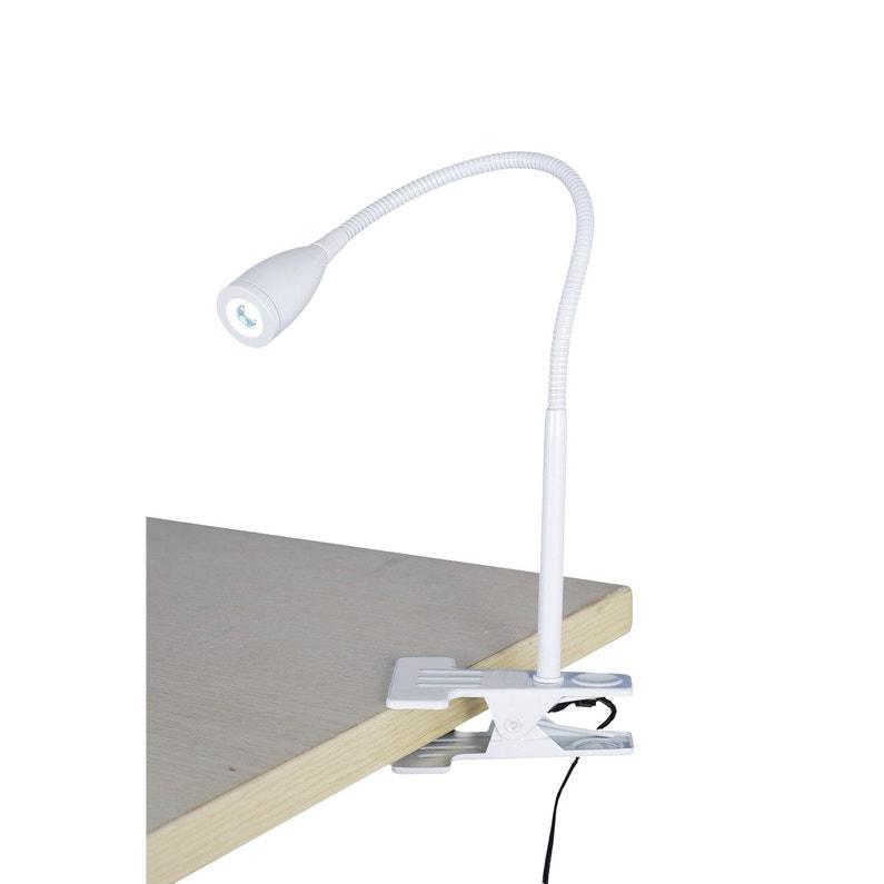 Lampe De Bureau Led Intégrée à Pince Blanc Led Gao Inspire