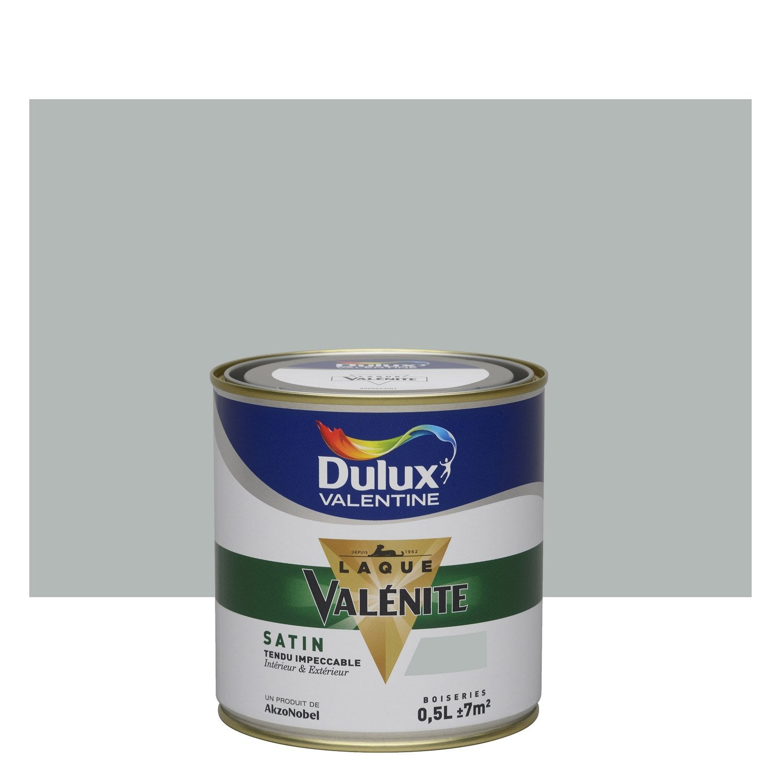 Peinture gris alpaga satin DULUX VALENTINE Valénite 0.5 l | Leroy Merlin