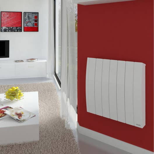 radiateur lectrique inertie fluide sauter bachata 1000 w leroy merlin. Black Bedroom Furniture Sets. Home Design Ideas