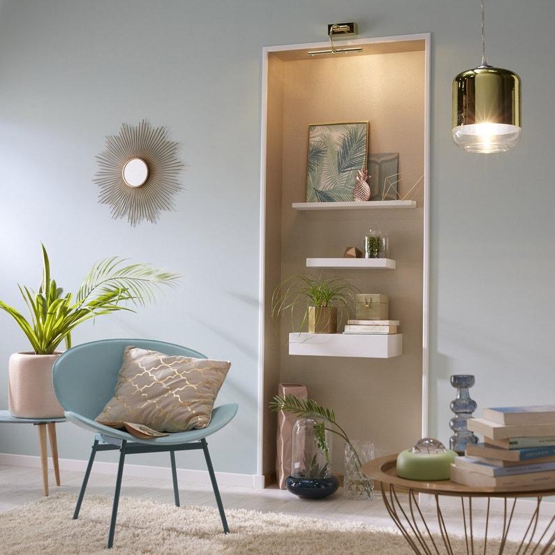sol pvc noma blanc artens textile l 4 m leroy merlin. Black Bedroom Furniture Sets. Home Design Ideas