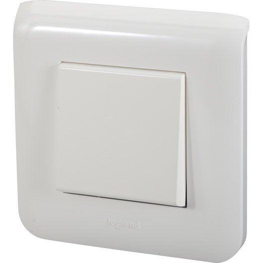 interrupteur va et vient mosaic blanc legrand leroy merlin. Black Bedroom Furniture Sets. Home Design Ideas