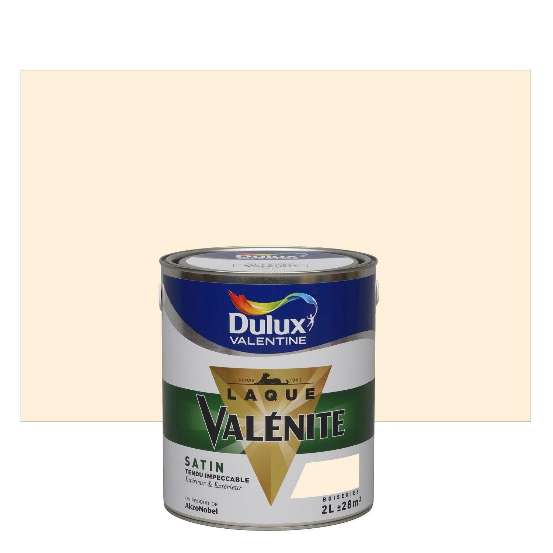 peinture blanc cass satin dulux valentine val nite 2 l leroy merlin. Black Bedroom Furniture Sets. Home Design Ideas
