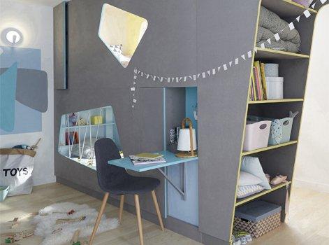 Créer deux chambres d\'enfant dans une seule pièce   Leroy Merlin