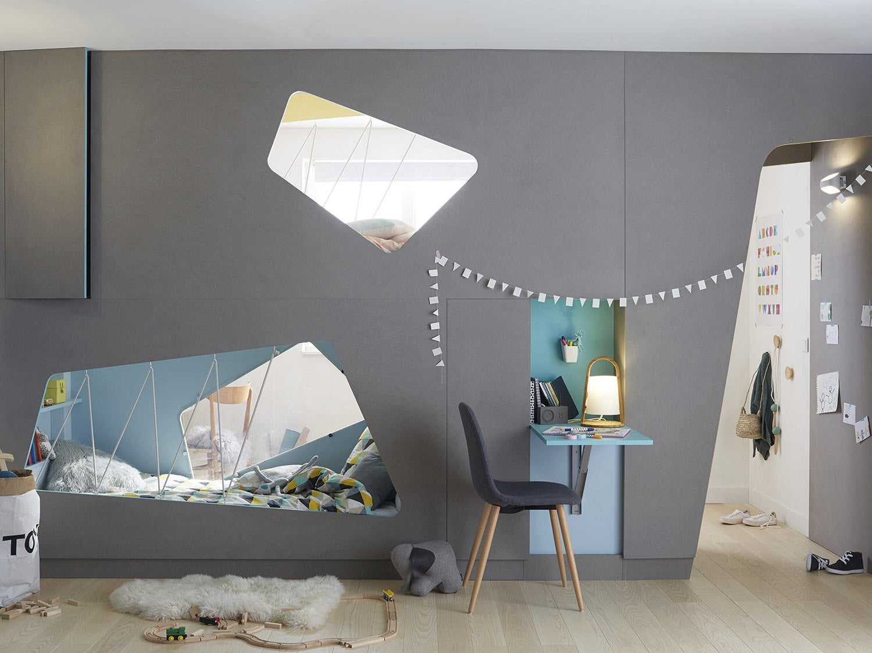 cr er deux chambres d enfant dans une seule pi ce leroy merlin. Black Bedroom Furniture Sets. Home Design Ideas
