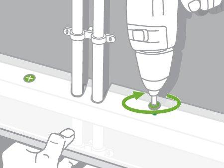 Comment r aliser un coffrage pour tuyauterie leroy merlin for Cache tuyaux salle de bain