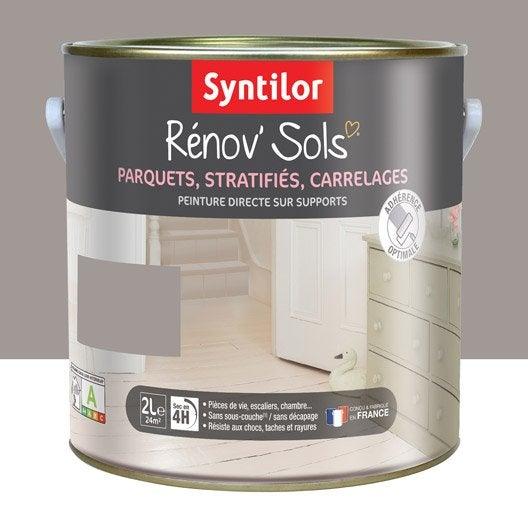 peinture sol intérieur renov'sol syntilor, brun praliné, 2 l