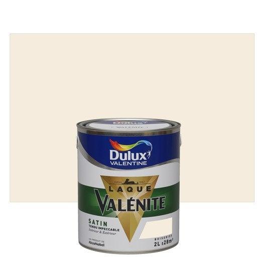 peinture lin clair dulux valentine val nite 2 l leroy merlin. Black Bedroom Furniture Sets. Home Design Ideas