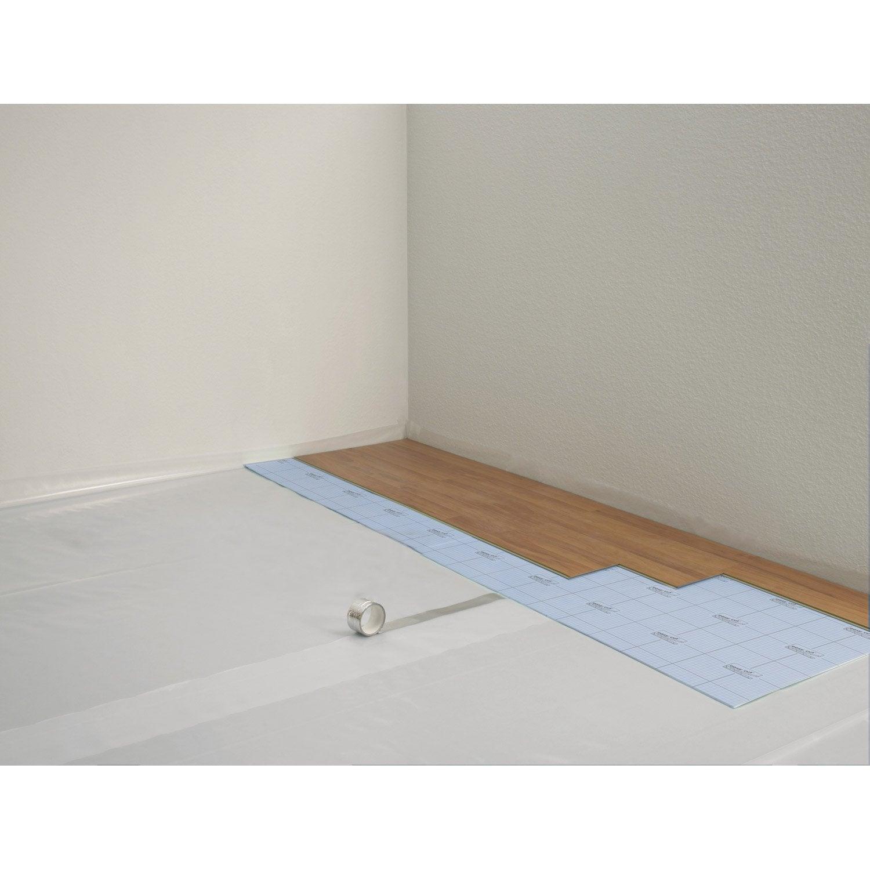 film pare vapeur parquet et sol stratifi floorkomfort ep mm 30 m leroy merlin. Black Bedroom Furniture Sets. Home Design Ideas