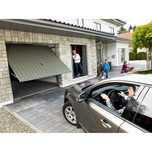 Motorisation porte de garage a cha ne courroie au for Prix motorisation garage