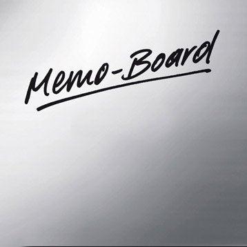 Verre imprimé Memoboard l.50 x H.50 cm