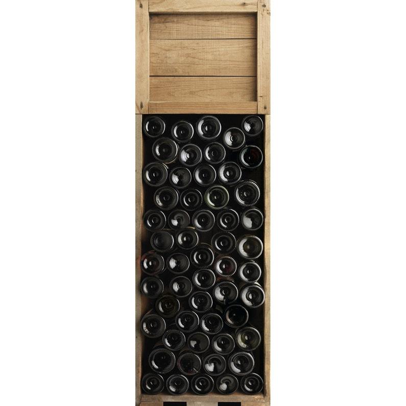 Sticker Réfrigérateur Réfrigérateur Caisses De Vin Xl 59 5 Cm X 180 Cm