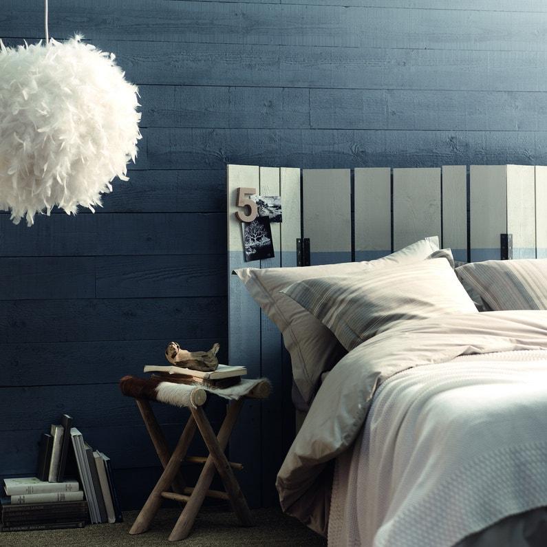 une chambre souvenirs de voyage - Peinture Gris Bleu Pour Chambre