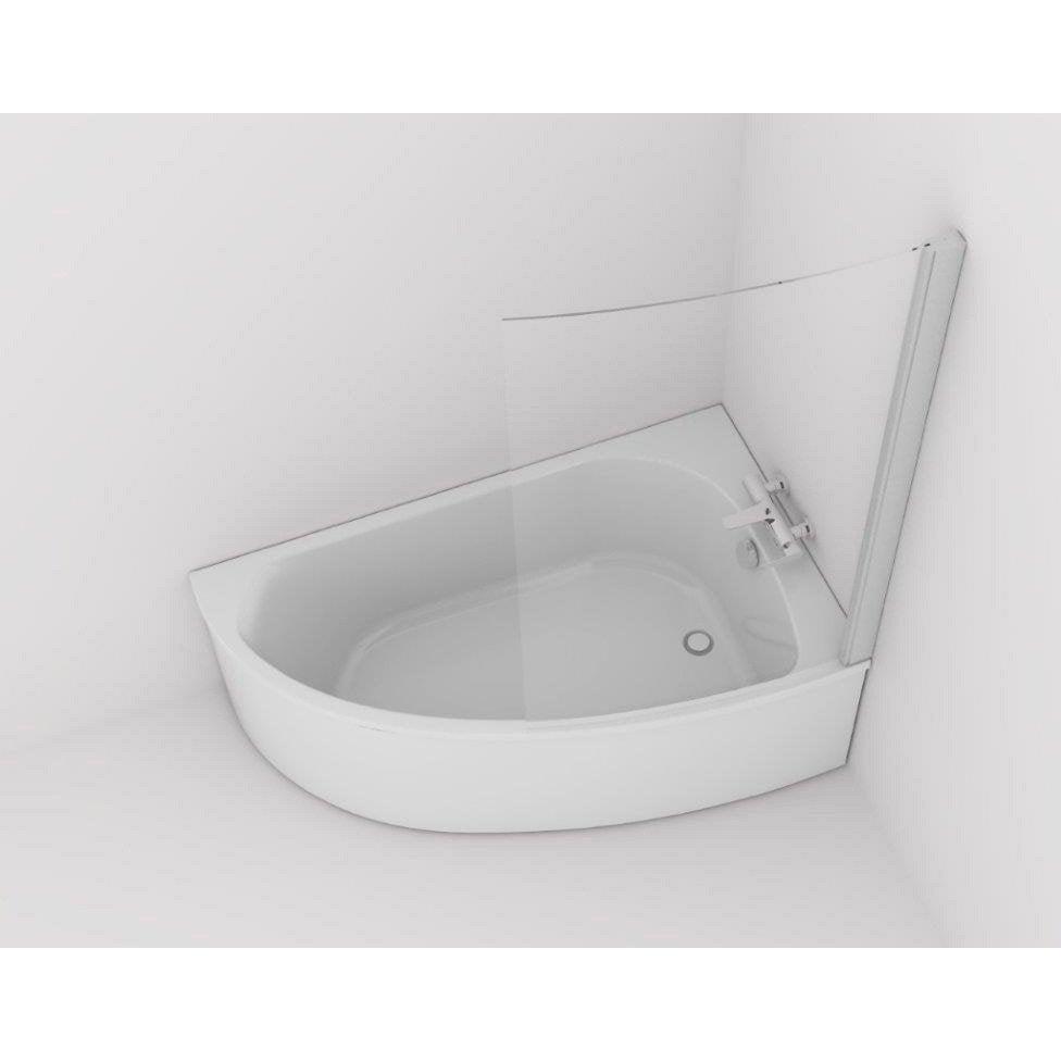 fabricant baignoire Baignoire asymétrique droite L.150x l.90 cm blanc, JACOB DELAFON Duomega 2  ...