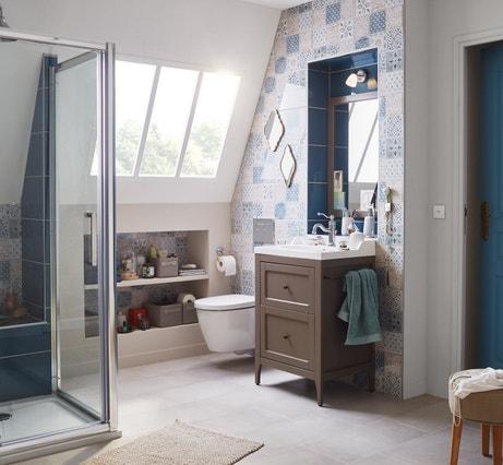 Une salle de bains sous les combles | Leroy Merlin