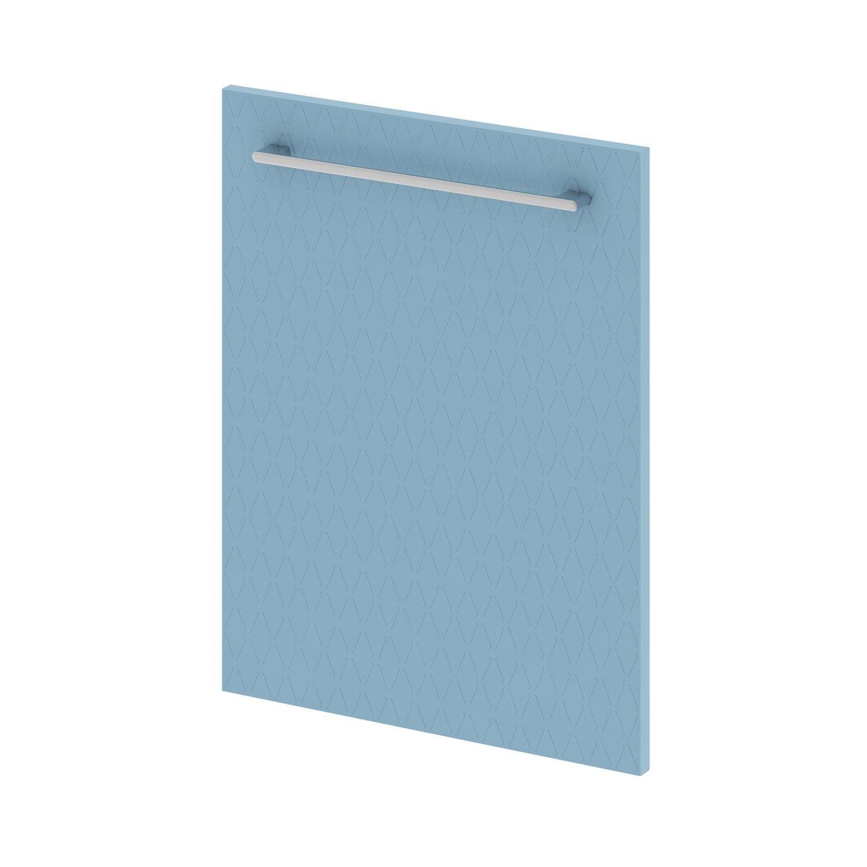 Porte, L.45 X H.58cm, Bleu Fjord 3D, ...