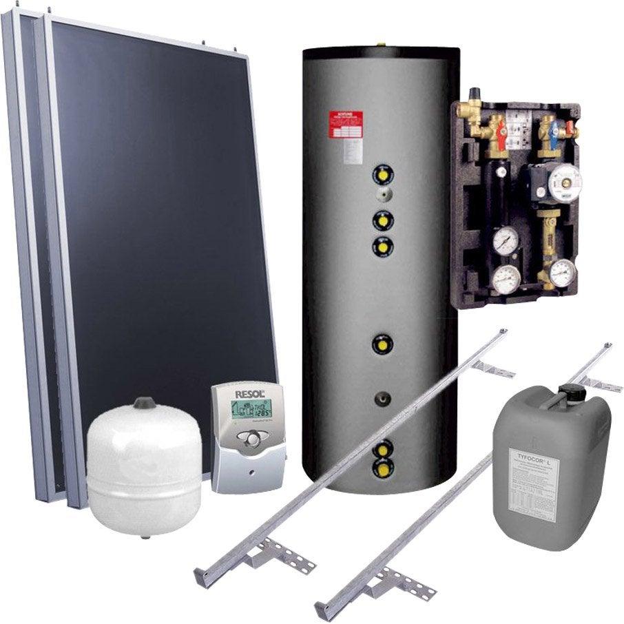 chauffe eau solaire kit