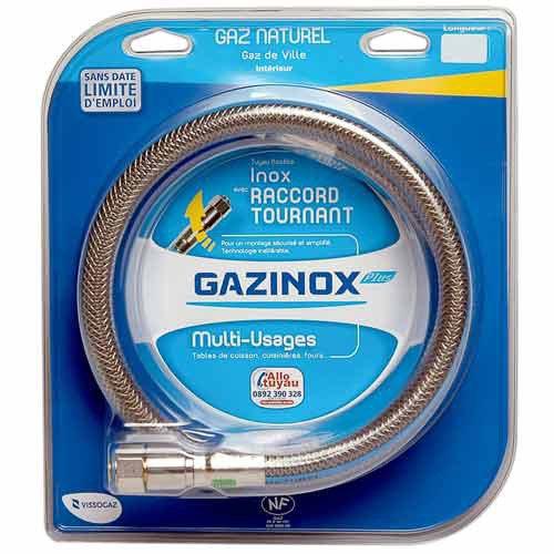 Flexible Inox Gaz Naturel Validité Illim Garantie à Vie125m Gazinox Security