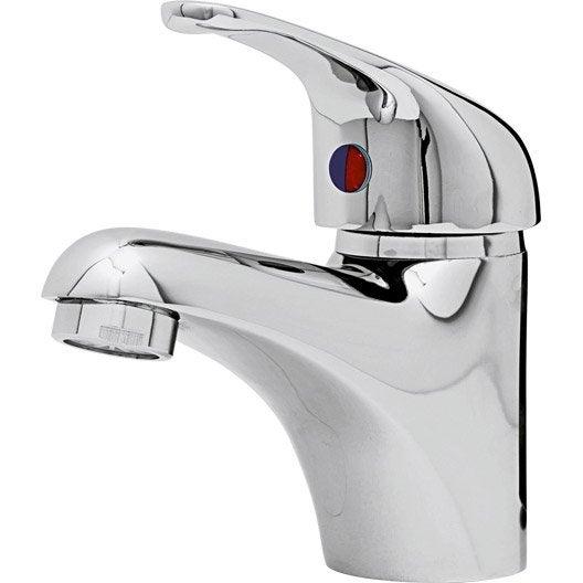 mitigeur de lavabo chromé nerea | leroy merlin