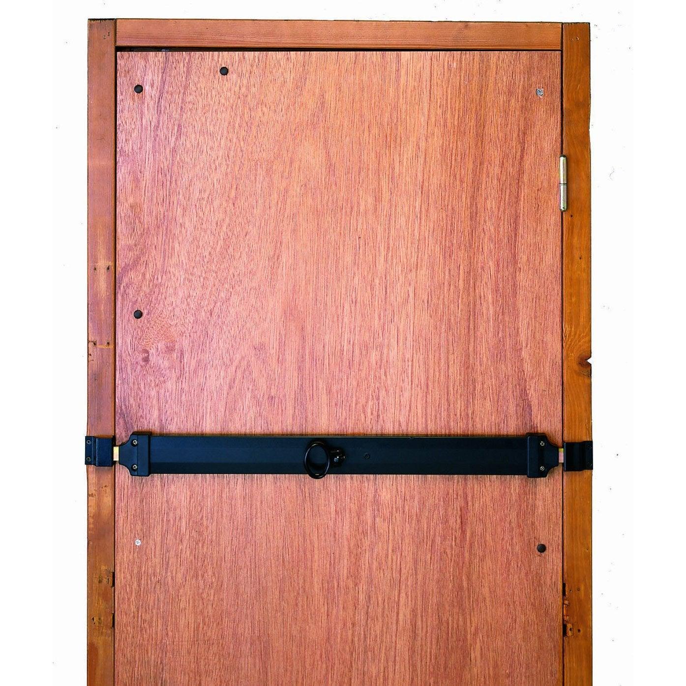 Barre De Sécurité En Acier Zingué Pour Portes De Garage L Cm - Porte placard coulissante jumelé avec porte sécurisé
