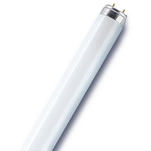 Tube fluorescent t8 g13 36w 900lm bleu osram leroy merlin for Tubos led t8 leroy merlin
