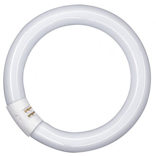 Tube circulaire fluorescent 32w 2250lm g10q 4000k osram for Neon a led leroy merlin