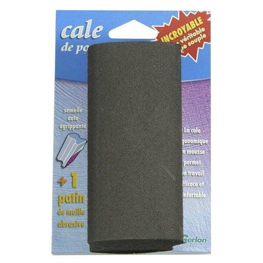 cale poncer abrasive gerlon 70 x 125 mm grains 120 leroy merlin. Black Bedroom Furniture Sets. Home Design Ideas
