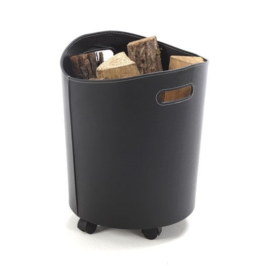 Panier b ches sac b ches range b ches range for Rangement interieur bois de chauffage