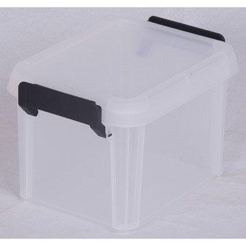 Boîte Multi box plastique , l.17 x P.22.4 x H.14.5 cm