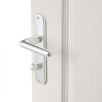 Poignet de porte leroy merlin changer une poigne de porte for Poignet de porte interieur