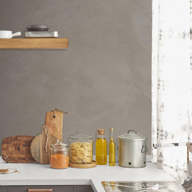 enduit b ton resinence gris ombre 4 l leroy merlin. Black Bedroom Furniture Sets. Home Design Ideas