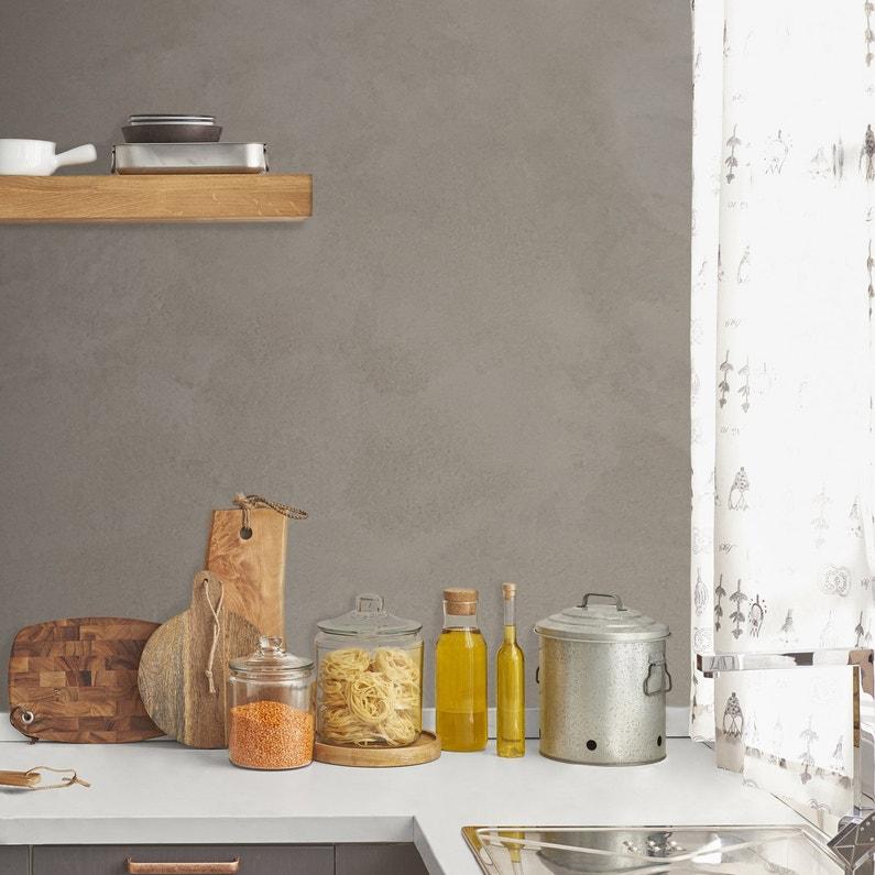 Enduit Béton mur, sol carrelage RESINENCE, gris ombre, 4 kg