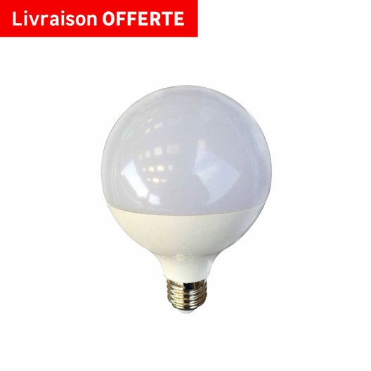 ampoule globe led 15w 1521lm quiv 100w e27 3000k 150 lexman leroy merlin. Black Bedroom Furniture Sets. Home Design Ideas