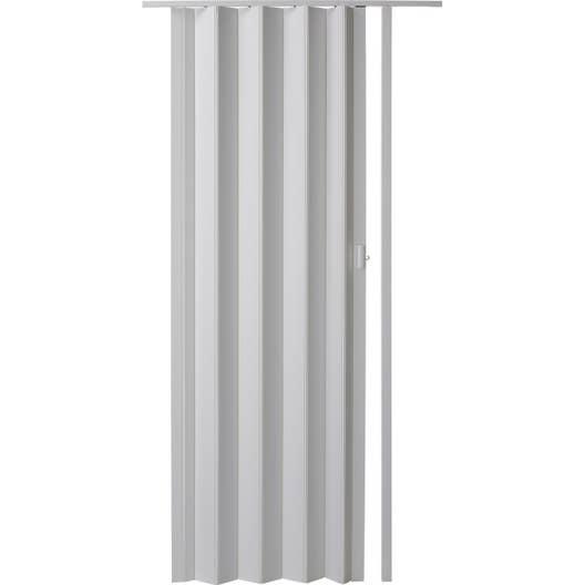 porte extensible blanc 205 x 85 cm pais d 39 une lame 6 mm leroy merlin