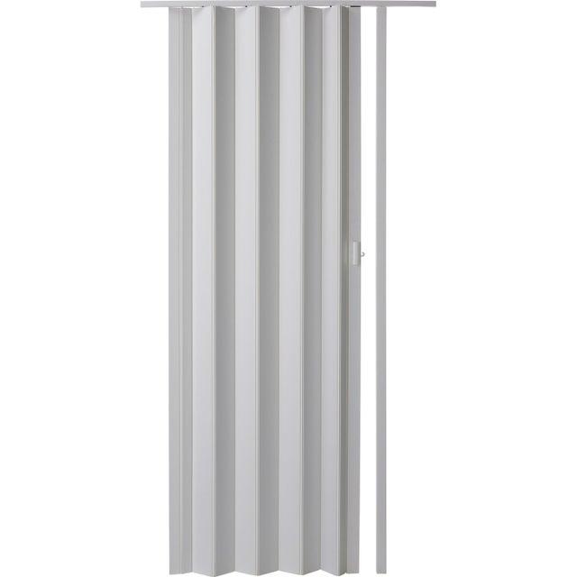 Porte Extensible Blanc 205 X 85 Cm épais Dune Lame 6 Mm