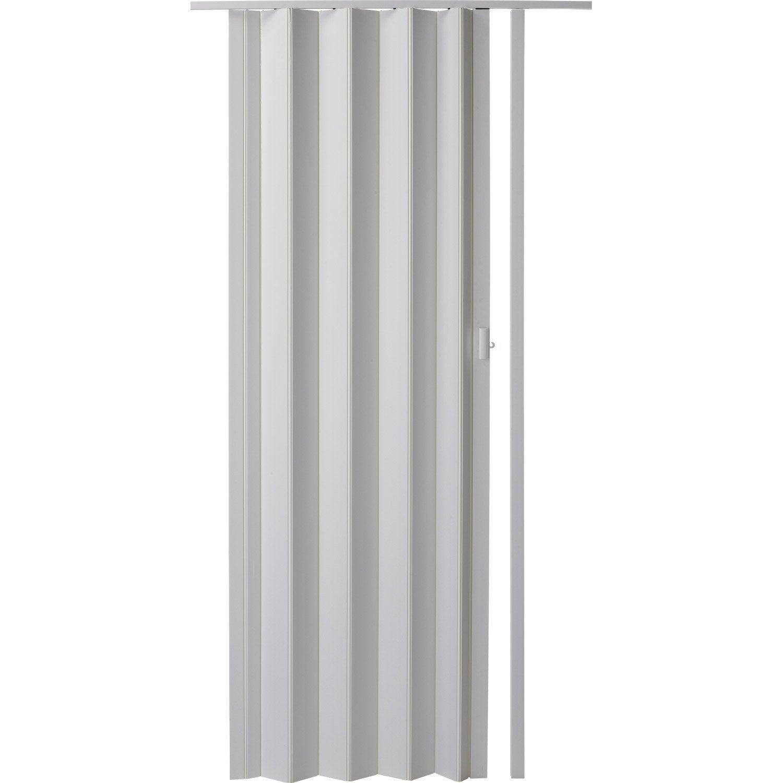 Porte Extensible Blanc, 205 X 85 Cm, épais. Du0027une Lame 6 Mm