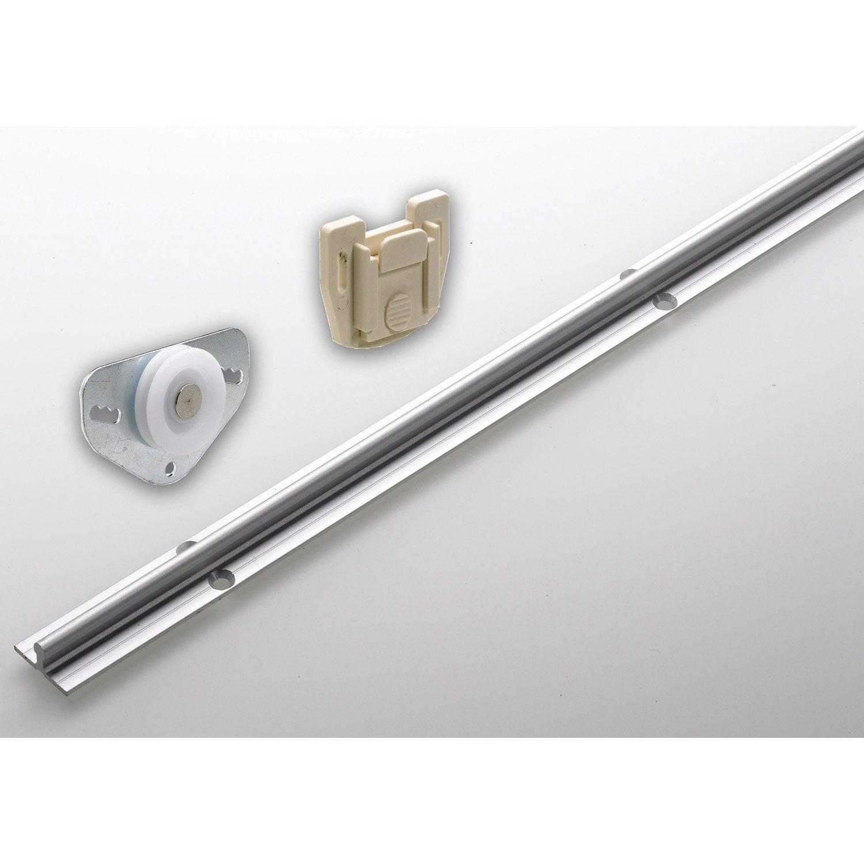 beau Set de ferrures aluminium pour portes coulissantes HETTICH