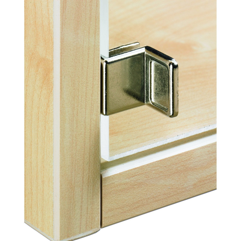 poign e cuvette acier pour portes en verre hettich leroy merlin. Black Bedroom Furniture Sets. Home Design Ideas