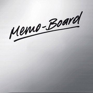 Verre imprimé Memoboard l.30 x H.30 cm
