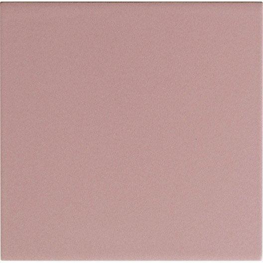 Fa ence mur rose blush astuce x cm leroy merlin for Carrelage epaisseur 3 mm
