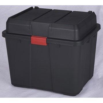 Malle Heavy box plastique , l.43.5 x P.53.5 x H.45.5 cm