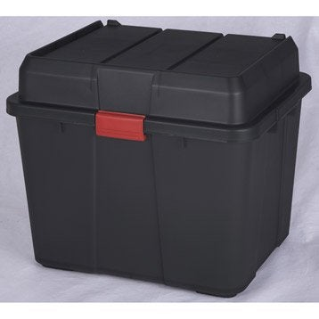 Malle Heavy box plastique , l.53.5 x P.43.5 x H.45.5 cm