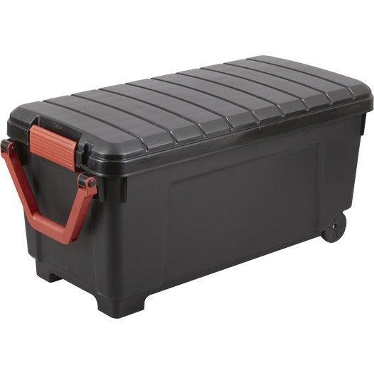 malle heavy box plastique x x cm leroy. Black Bedroom Furniture Sets. Home Design Ideas