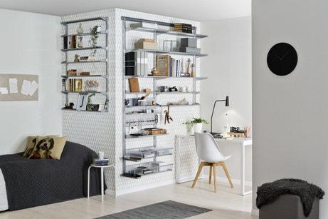 Des étagères optimisées pour le bureau