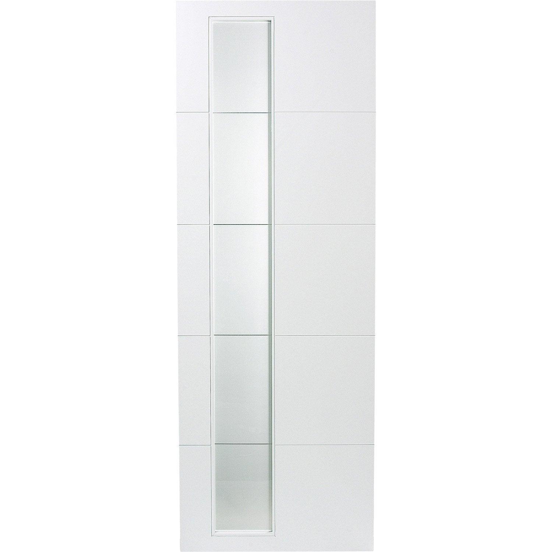 porte coulissante laqu e blanc alaska artens x. Black Bedroom Furniture Sets. Home Design Ideas