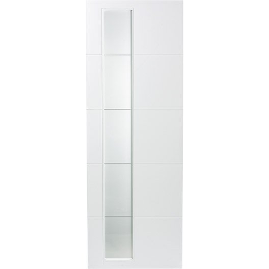 porte coulissante rev tu blanc alaska artens 204 x 73 cm leroy merlin. Black Bedroom Furniture Sets. Home Design Ideas