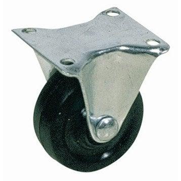 Roulette fixe à platine, Diam.42 mm