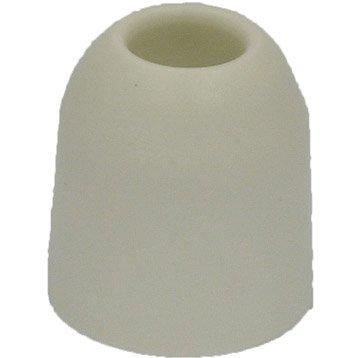Lot de 2 butées de porte plastique H.3.1 x L.2.8 x Diam.2.8 cm