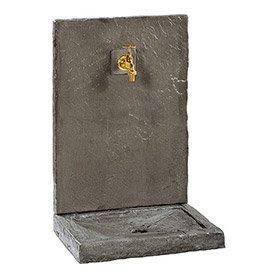 fontaine et cascade d 39 exterieur pierre fonte au meilleur prix leroy merlin. Black Bedroom Furniture Sets. Home Design Ideas