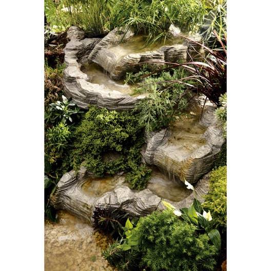 cascade pour bassin ubbink colorado haut l x l m x cm leroy merlin. Black Bedroom Furniture Sets. Home Design Ideas
